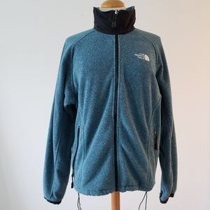 Vintage North Face zip up sweater size L